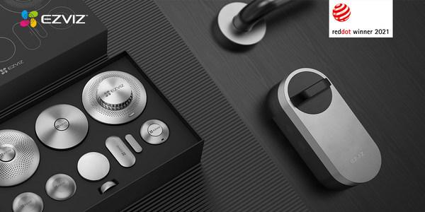 EZVIZの2製品がモダンなスマートホームに適したユーザー主導の革新的なデザインでレッドドット賞を受賞
