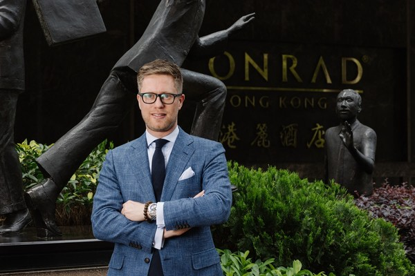 Jan Jansen Appointed General Manager at Conrad Hong Kong