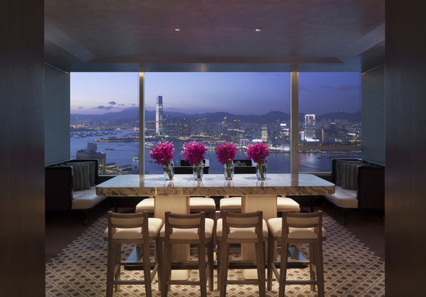 Conrad Hong Kong towers 61 floors above Pacific Place in the heart of the city's business district, offering direct access to major transportation network and entertainment areas. Its 467 guestrooms and 45 suites command panoramic views stretching from The Peak to the Victoria Harbour and beyond. The hotel is home to 6 award-winning restaurants and bar, heated outdoor swimming pool, Jacuzzi, 24-hour Health Club, sauna and steam room, providing a luxury base to business and leisure travellers.