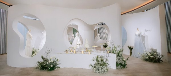 长沙尼依格罗酒店漾-YOUNG轻纱婚礼展完美呈现