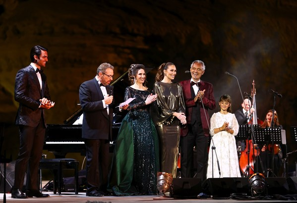 Three Bocellis and many instruments in a celebration of life at Hegra: The Royal Commission for AlUla
