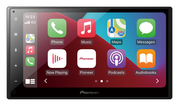 New Pioneer AVH-A4450BT A-Series Receiver With Apple CarPlay And Android Auto