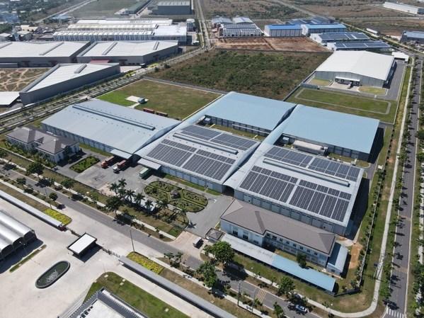 Total cung cấp Hệ thống năng lượng mặt trời cho Men-Chuen, một trong những công ty sản xuất hàng dệt may lớn nhất tại Việt Nam