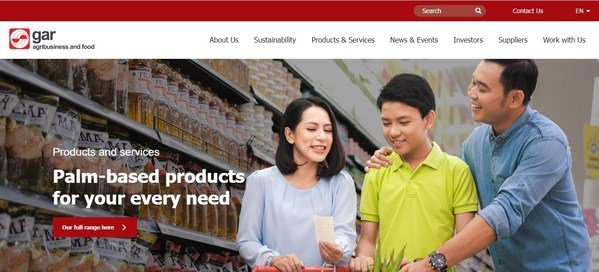 金光农业资源(GAR)启动内容丰富且用户友好的全新网站