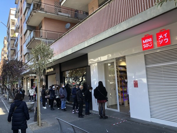 Leading lifestyle product retailer, MINISO, has conducted a soft opening of its first store in Italy which started on April 8. The first day of the soft opening attracted a queue of consumers.