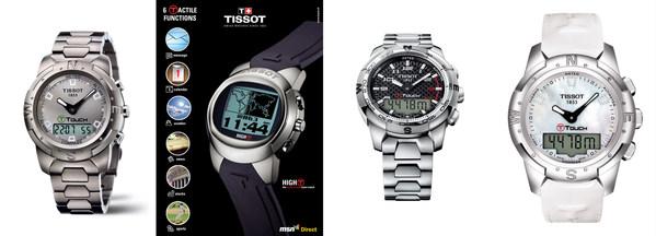1999年,天梭第一枚腾智系列触屏腕表/2005年,天梭第一款触屏联网腕表/2007年,天梭腾智系列专业版腕表/2012年,天梭腾智系列精英版女士腕表