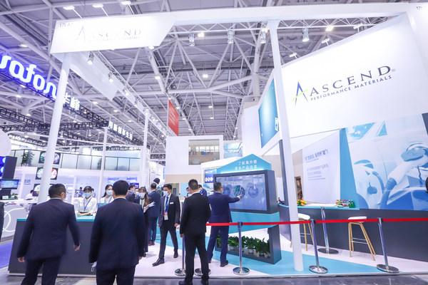Ascend menampilkan portfolio yang diperluas, pengeluaran tempatan dan sumber teknikal di Chinaplas