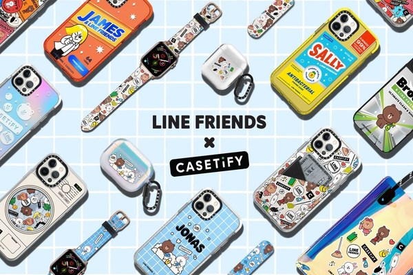 CASETiFY Gives Accessories a Spring Refresh with the New LINE FRIENDS Collection