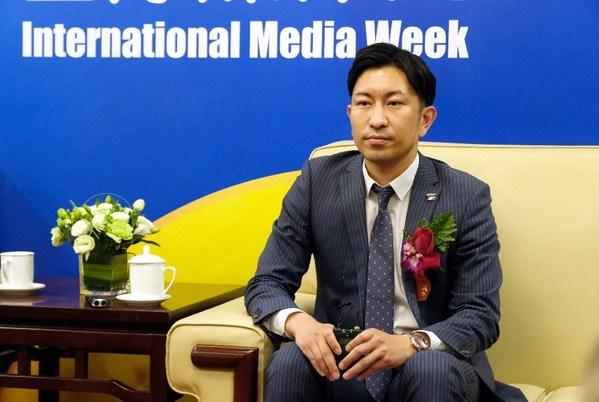 富士胶片(中国)印艺事业总经理大木雄次先生在CHINA PRINT 2021 国际媒体周上接受媒体采访,预告今年参展亮点