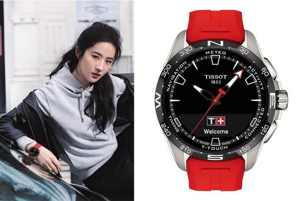 TISSOT天梭表全球形象代言人刘亦菲演绎腾智-无界系列腕表