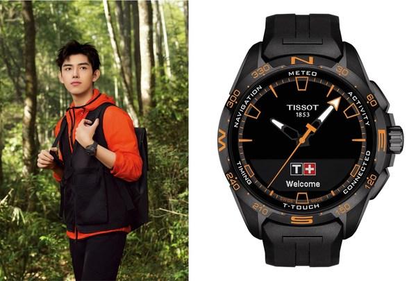 TISSOT天梭表全球形象代言人陈飞宇演绎腾智-无界系列腕表