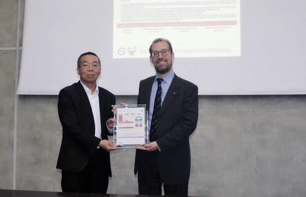 TUV莱茵为海尔空调颁发全球首张巴林能效证书