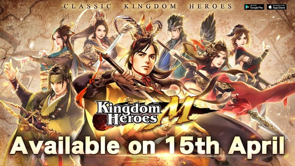 Mobile game masterpiece Kingdom Heroes M officially launched on iOS and Android