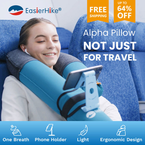 EasierHike Alpha Pillow announces its official launch on Indiegogo