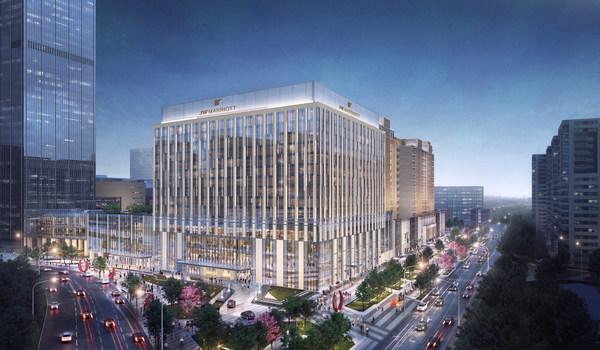 万豪国际集团签约城建东华联手打造JW万豪北京东直门酒店
