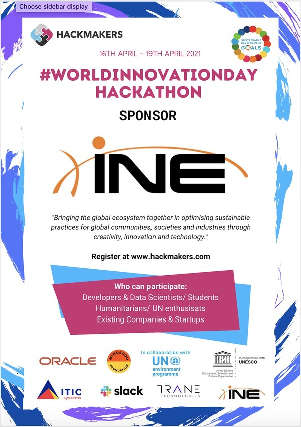 INE, United Nations Join Forces for World Innovation and Creativity Day Global Hackathon
