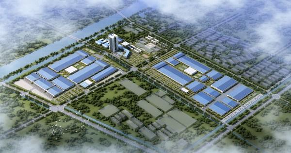 中化国际新能源扬州基地效果图