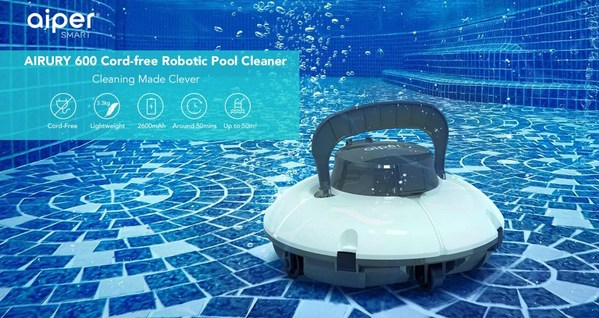 Innovative Pool Cleaner Manufacturer Aiper Smart Fights to Make Pool Maintenance More Affordable