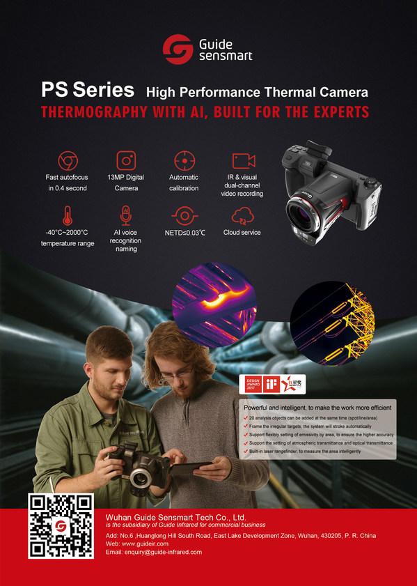 Guide Sensmart, 산업 검사 간소화할 AI 기반 고성능 열 카메라 출시