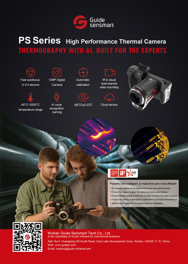 Guide Sensmart Launches AI-Powered High-Performance Thermal Camera to Streamline Industrial Inspections