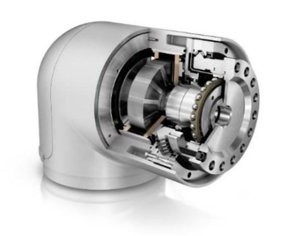 要开发更加紧凑、工作范围更大、承载能力更高的机器人,必须使用高性能的创新系统部件。舍弗勒提供适用于关节的系统总成,包括DuraWave RTWH应变波齿轮减速器、XZU角接触滚针轴承和UPRS系列电机等