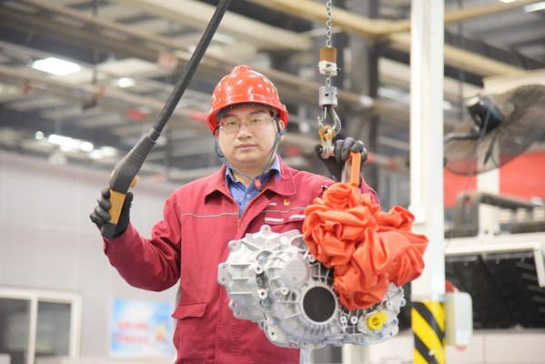 为中国电动车企供10万台电驱动齿轮箱
