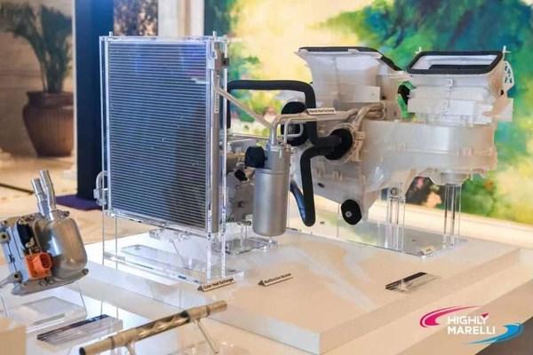 适用于EV-PHEV的间接热泵系统