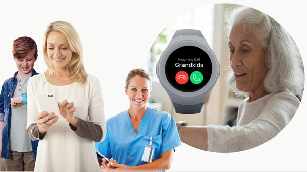 Australian Industry Leaders collaborate on stylish and technically advanced smartphone watch for older people