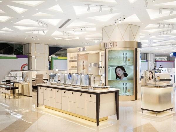 ELIXIR怡丽丝尔宁波阪急新店盛大开业,打造「水玉光」新体验