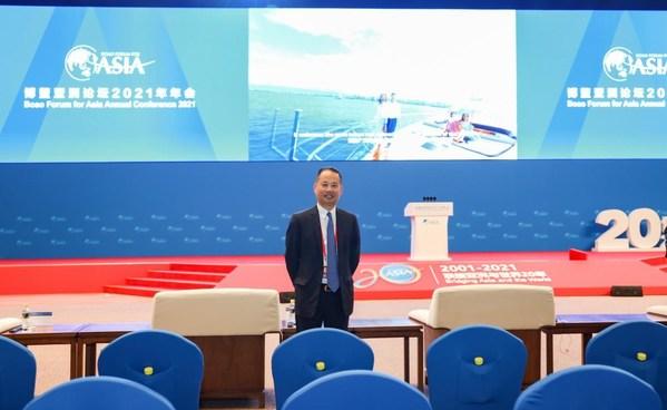 晨光文具总裁陈湖雄先生再度受邀出2021博鳌亚洲论坛