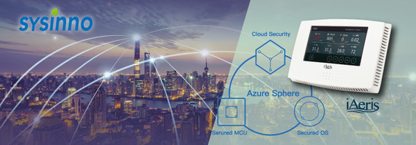 Sysinno Introduces First Available Air Quality Monitor Running on Microsoft Azure Sphere