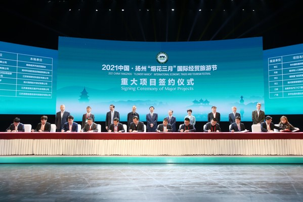 Xinhua Silk Road: China Yangzhou hails contracting of RMB100 bln inv't projects at