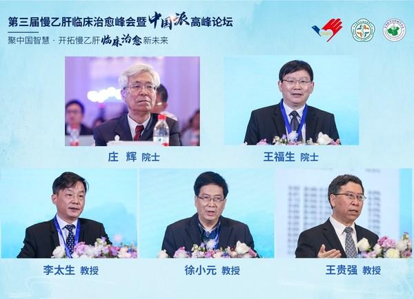 第三届慢乙肝临床治愈峰会暨中国派高峰论坛大会主席