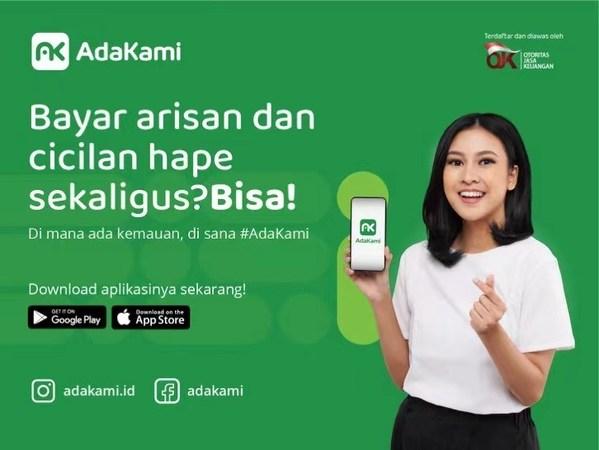 AdaKami platform pinjaman online yang telahberizin dan diawasi OJK