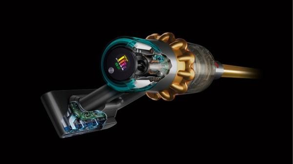 搭载Hyperdymium旋速马达及戴森专利气旋技术,V15 Detect无绳吸尘器提供高达230AW6的吸力
