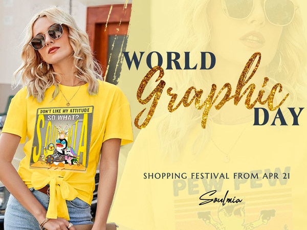 Soulmia Launched Shopping Festival to Celebrate World Graphics Day: Embrace 'Yoursoulf Zone' with Graphics