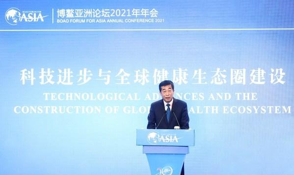 Zhang Jianqiu berbagi tentang pengalaman inovasi Yili di industri makanan sehat