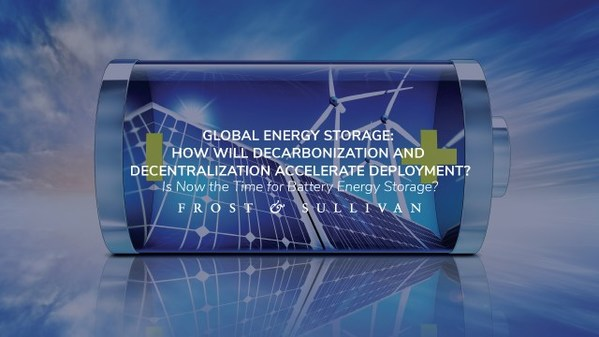 Frost & Sullivan Examines Decade of Strong Growth in the Global Energy Storage Market