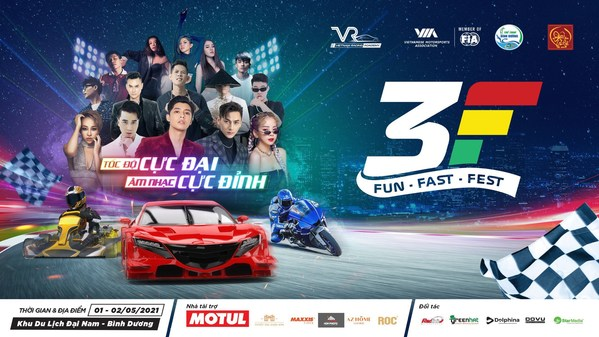 Fun Fast Fest - a festival of motorsports, music fest and entertainment activities will take place for the first time in Vietnam on 1&2 May 2021