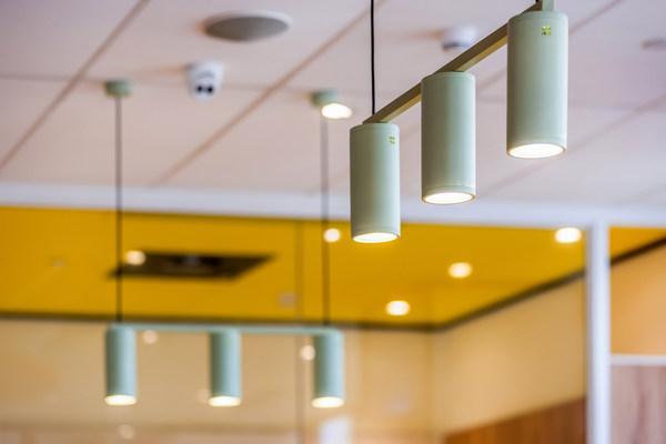 武汉绿地汉口中心餐厅使用节能灯具及高效能的智能化能源管理系统