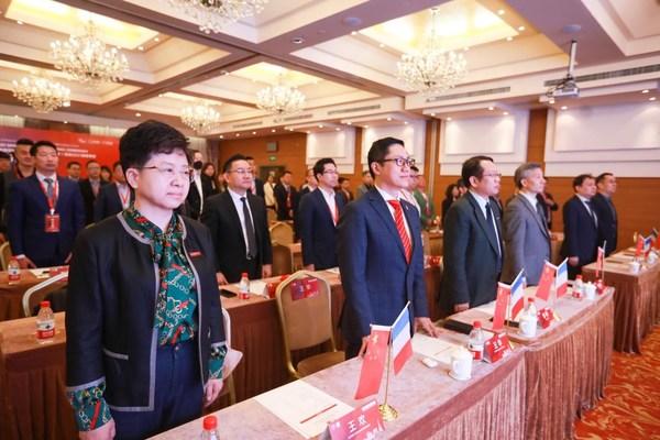 北京邮电大学-法国里昂商学院EMBA2021级春季班开学典礼在北京隆重举行