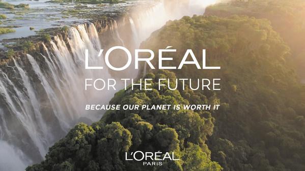 """巴黎欧莱雅首次全球发布""""我们的星球值得拥有""""2030可持续发展项目"""