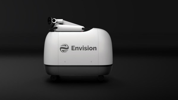 "Envision Group launches green charging robot ""Mochi"", the world's first mass-produced charging robot 100% powered by green electricity"