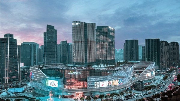 """""""The Ring, Chongqing"""" is Hongkong Land's inaugural lifestyle retail series. It is a seven-level shopping mall with some 74,000 sq. m of net leasable area."""