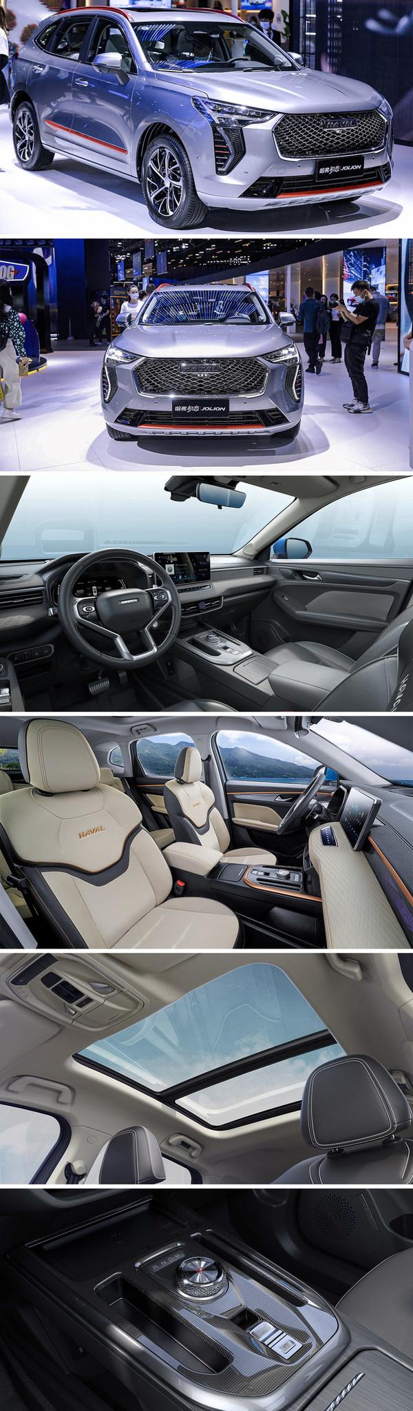 유행 선도하는 SUV HAVAL JOLION, 상하이 모터쇼 2021에서 전시