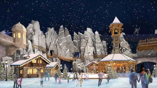 阿尔卑斯雪世界室内效果图