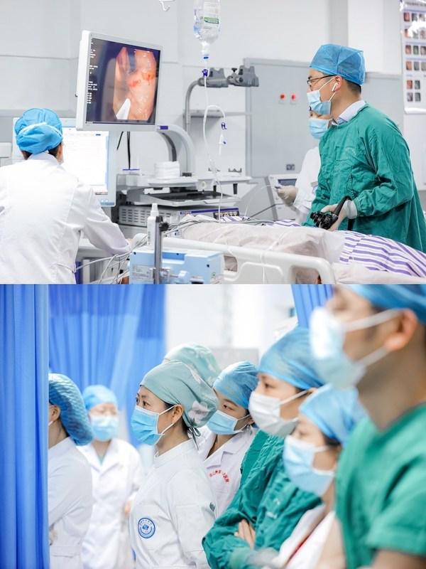 现场手术带教,助力提升基层医疗机构内镜诊治水平