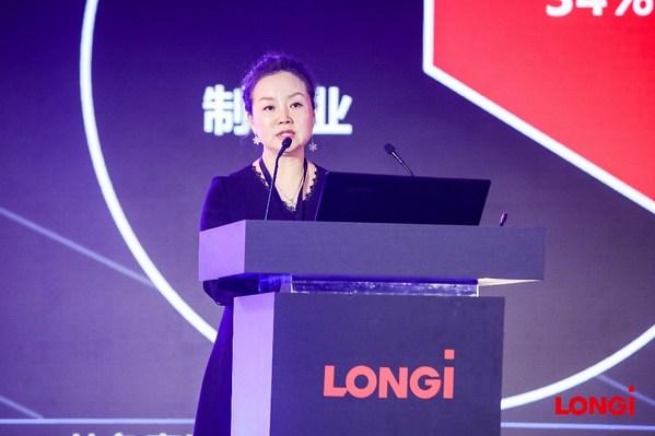隆基乐叶光伏科技有限公司分布式战略管理部负责人牛燕燕