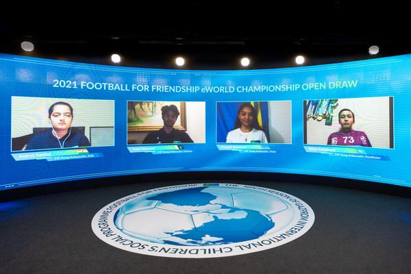 Football for Friendship, 올해 eF4F 행사 위한 팀 추첨 진행
