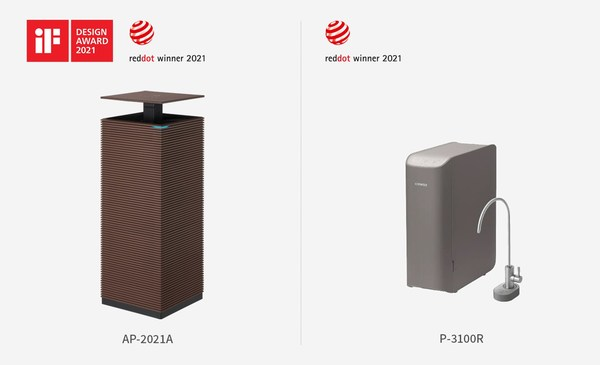 Coway Wins Red Dot and iF Design Award for Innovative Home Appliances